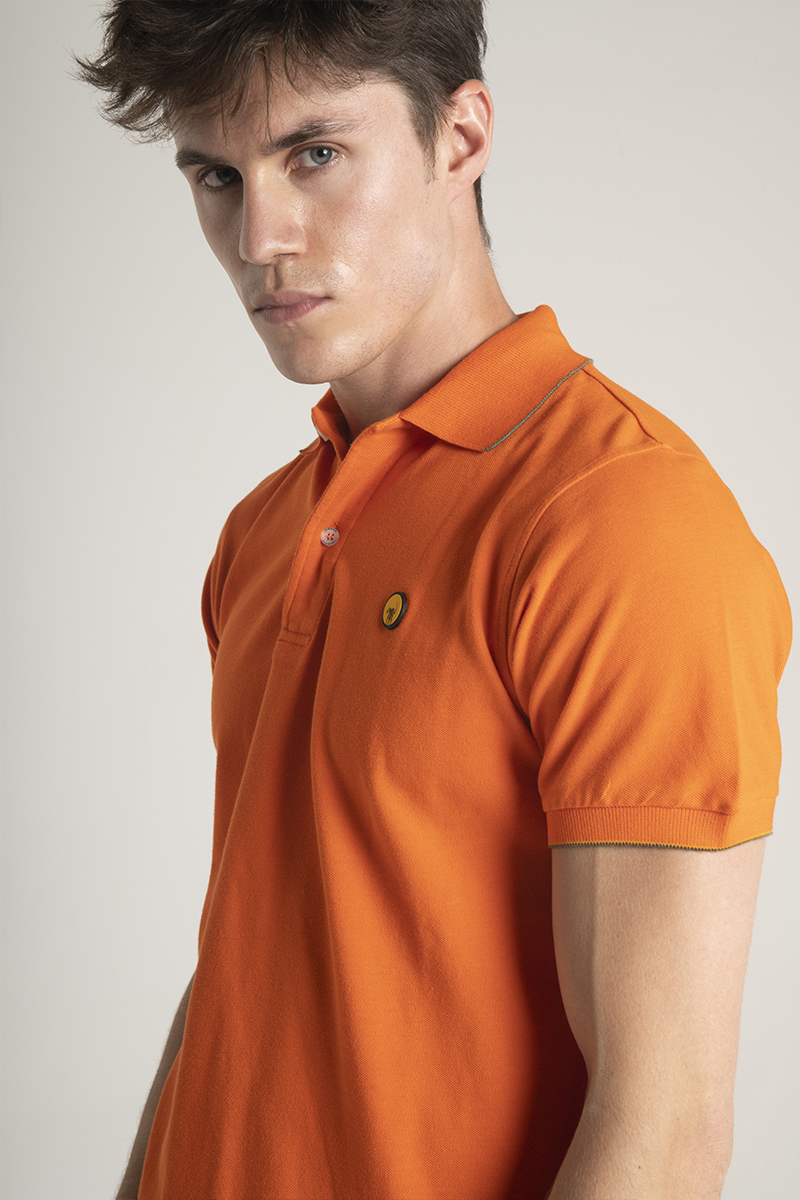 Ciesse-Piumini-polo-stretch-in-cotone